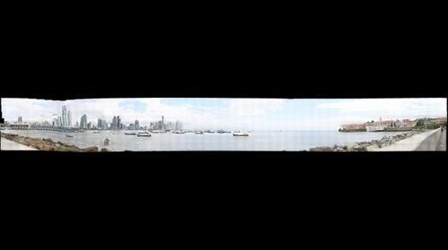 Panoramica desde Casco Viejo Panama