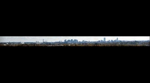 Boston Skyline as Seen from Middlesex Fells