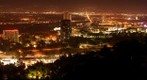 Night Panorama from Universal City Overlook