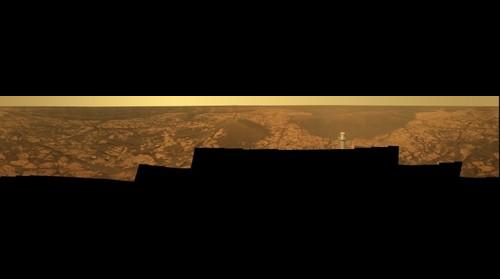 "Full-Circle ""Santorini"" Panorama from Opportunity"