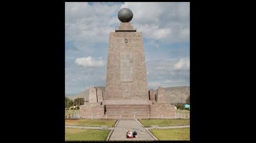 Mitad del Mundo, Ecuador (Middle of the World) Monument
