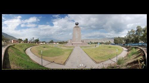 Mitad del Mundo, Ecuador (Middle of the World)