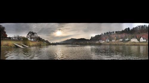 Herbst an der Mosel in Trier