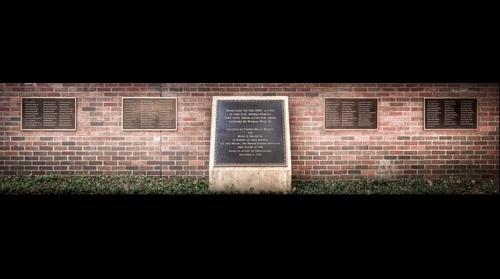 The Lt. Jack Miller Memorial Plaque & World War II Memorial