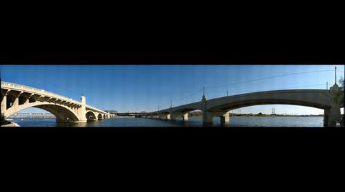 Bridges over Tempe (AZ) Town Lake