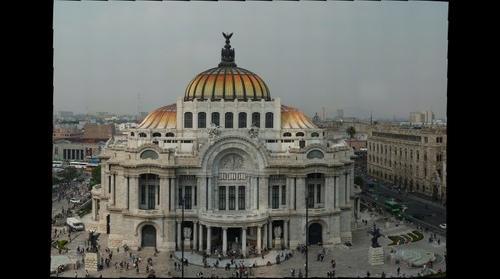 Palacion de Bellas Artes de la Cd. de Mexico.