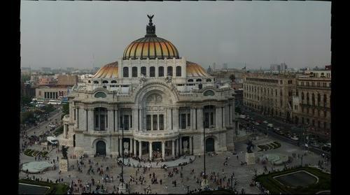 El Palacio de Bellas Artes de Mexico.