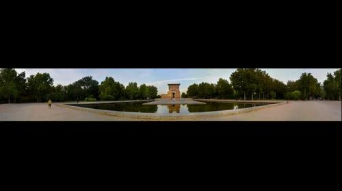 Templo de Debod. Madrid Spain