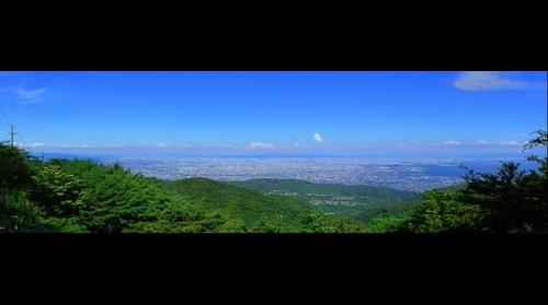 Mt. Rokko(near the highest peak)