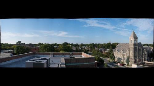Lansdowne PA from Roof of Building 22
