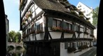 Crooked house in Ulm (Germany)