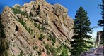 El Dorado Canyon Colorado with climbers