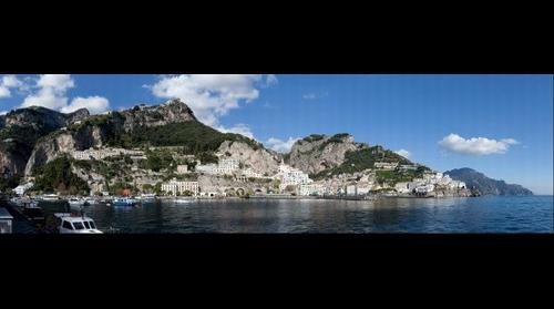 Amalfi, Italy 10 Gigapixel