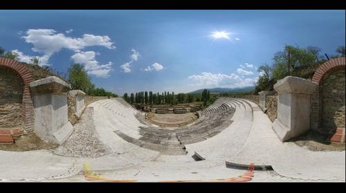 Heraklea - Theatre, Ancient City, Bitola, Macedonia