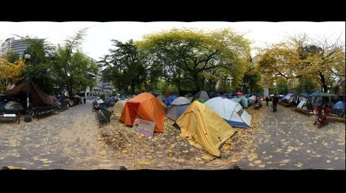 Occupy Portland 10.28.11 - Camp Chapman Square
