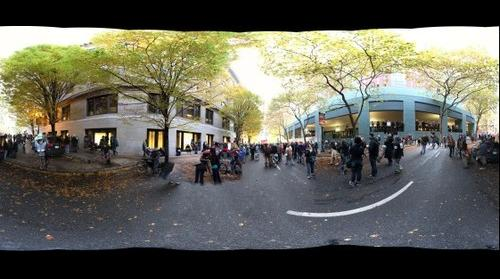Occupy Portland 11.13.11 Protest Rear