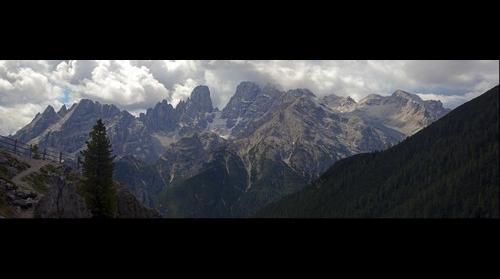Monte Cristallo & Piz Popena