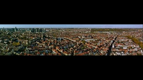 145° view of Brussels from the Brusilia