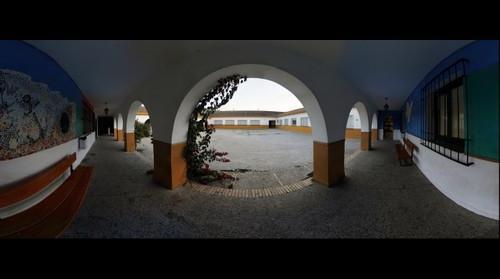 Patio de arcos - IES La Granja