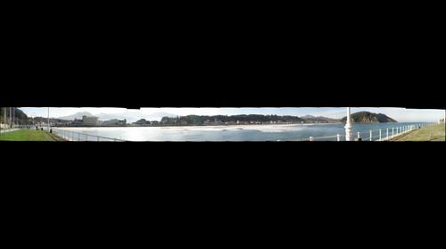 Vista desde La Grúa, en Ribadesella - Asturias - España