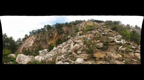 Quarry at Occoneechee State Park
