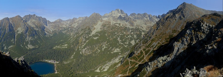 Tatry - panorama z Osterwy