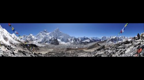 Everest as seen from Kalla Pathar