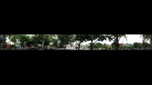 Praça da Cantareira  - Grande vista