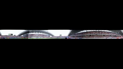 Partido de Futbol Costa Rica  vs España realizado en el nuevo Estadio Nacional
