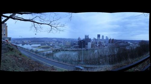 Time Machine Pittsburgh: 18mm 4x1 from Grandview Sidewalk