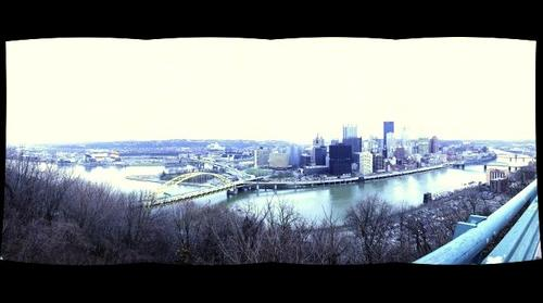 Time Machine Pittsburgh:  18mm 4x1 from McArdle Roadway