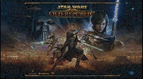 Star Wars The Old Republic - Beta Screenshot Mosaic