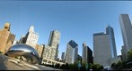 Chicagos Millennium Park, Chase Promenade Central and Cloud Gate