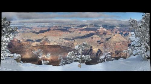 Snow at the Grand Canyon 2