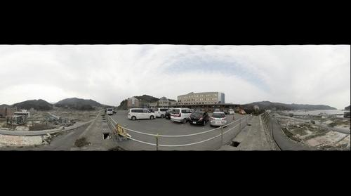 Onagawa Hospital No.2, Onagawa Town, Oshika County, Miyagi Pref., Japan, 14 Nov. 2011