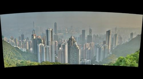 View from THE PEAK on Hong Kong Island