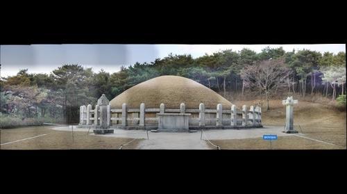 kimyusin's tomb