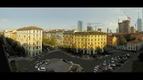 MILANO ZONA ISOLA - PANORAMICA Ambrosini Pierluigi