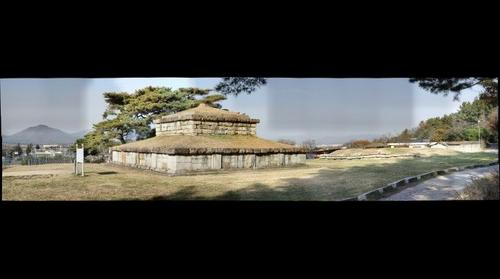 nungji-stupa in kyungju