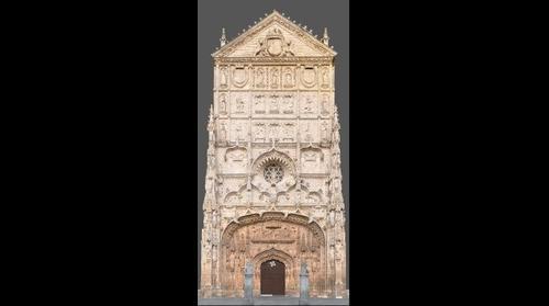 Fachada de San Pablo.Valladolid (Spain)