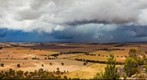 Storm passing by Mt Arapiles 2:30pm 18/12/11