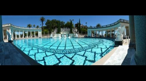 Hearst Castle - Neptune Pool -  San Simeon, California