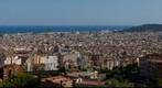 Panorama of Barcelona from Park Guel