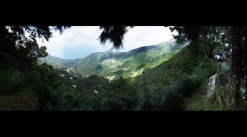 Punta Mulato desde el Warairarepano y falda de la montaña hacia el Norte,  la Guaira.