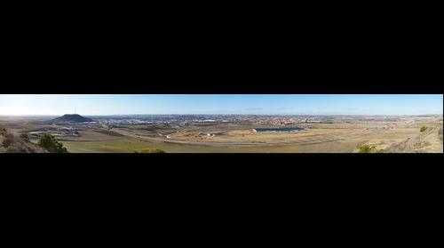 Valladolid desde el Cerro del Aguila 70mm