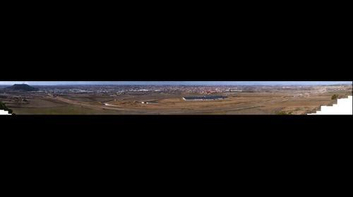 Valladolid desde el Cerro del Aguila.