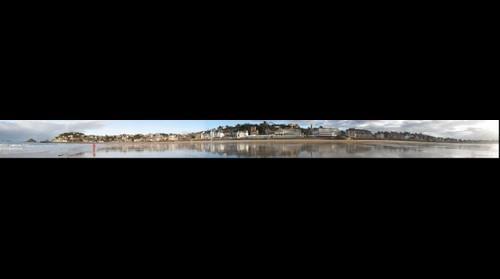 La plage du Val-André (Bretagne, France)