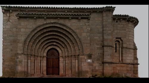 Iglesia de San Juan Bautista. Huerta de Guadián.Palencia (España)