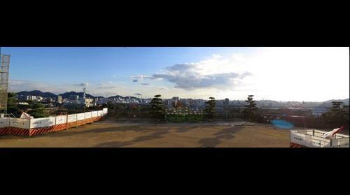 Himeji Castle sunset