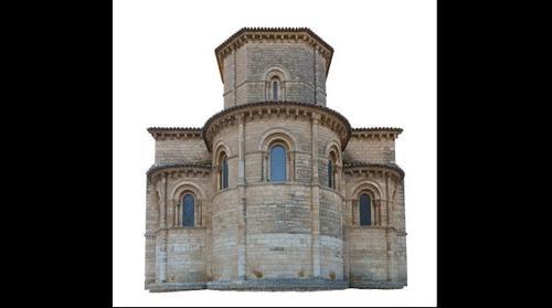 Ábside. Iglesia de San Martín. Fromista. Palencia (España)